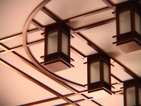 Потолки. Подвесные кессонные потолки. Частный интерьер. (фотогалерея компании «Русский Двор»)
