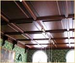 Биллиардная комната. Натуральные, изысканные сорта дерева. Частный интерьер. (фотогалерея компании «Русский Двор»)
